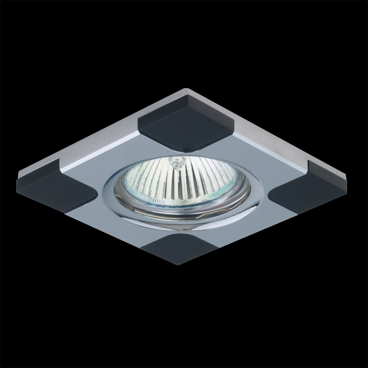 Downlight venge/chróm 1xGU10/50W