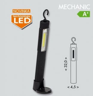 Montážna nabíjacia led lampa MECHANIC 1xCOB LED/3W IP44