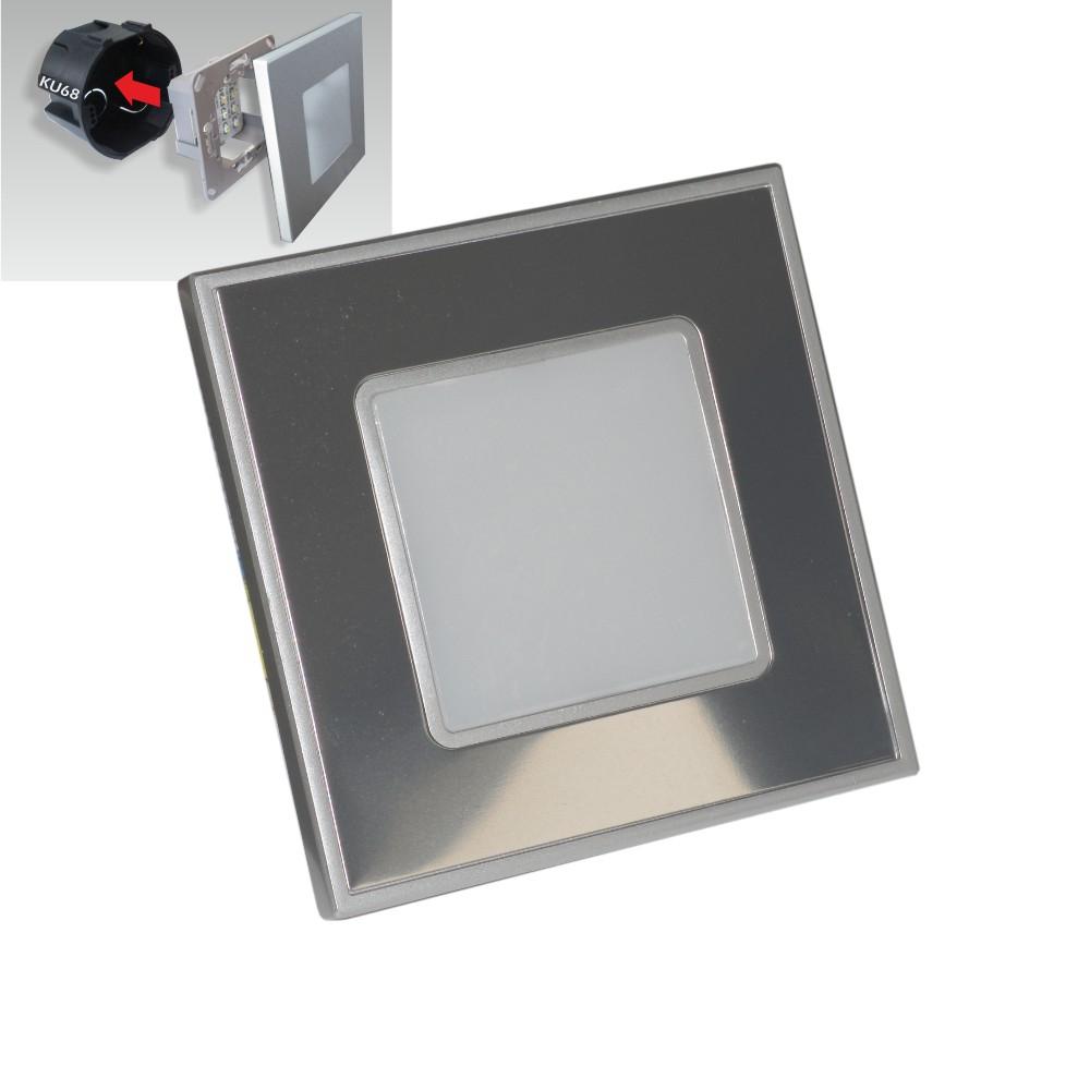 Light Step Ed E: STEP LIGHT Schodiskové LED Svietidlo 1W Strieborné 48302
